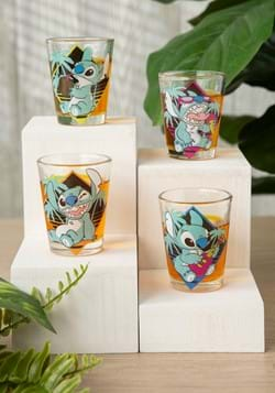 Lilo and Stitch Pastel 4pc Shot Glass Set