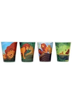 Disney Lion King 4pc Shot Glass Set