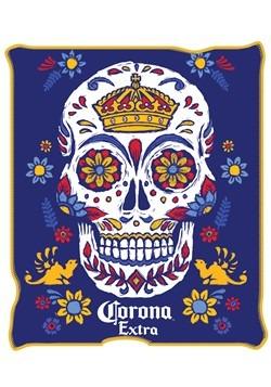 Corona Sugar Skull 45 x 60 Throw Blanket