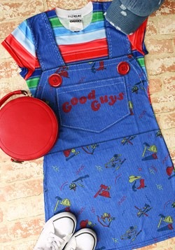 Womens Child's Play Chucky Costume Dress update