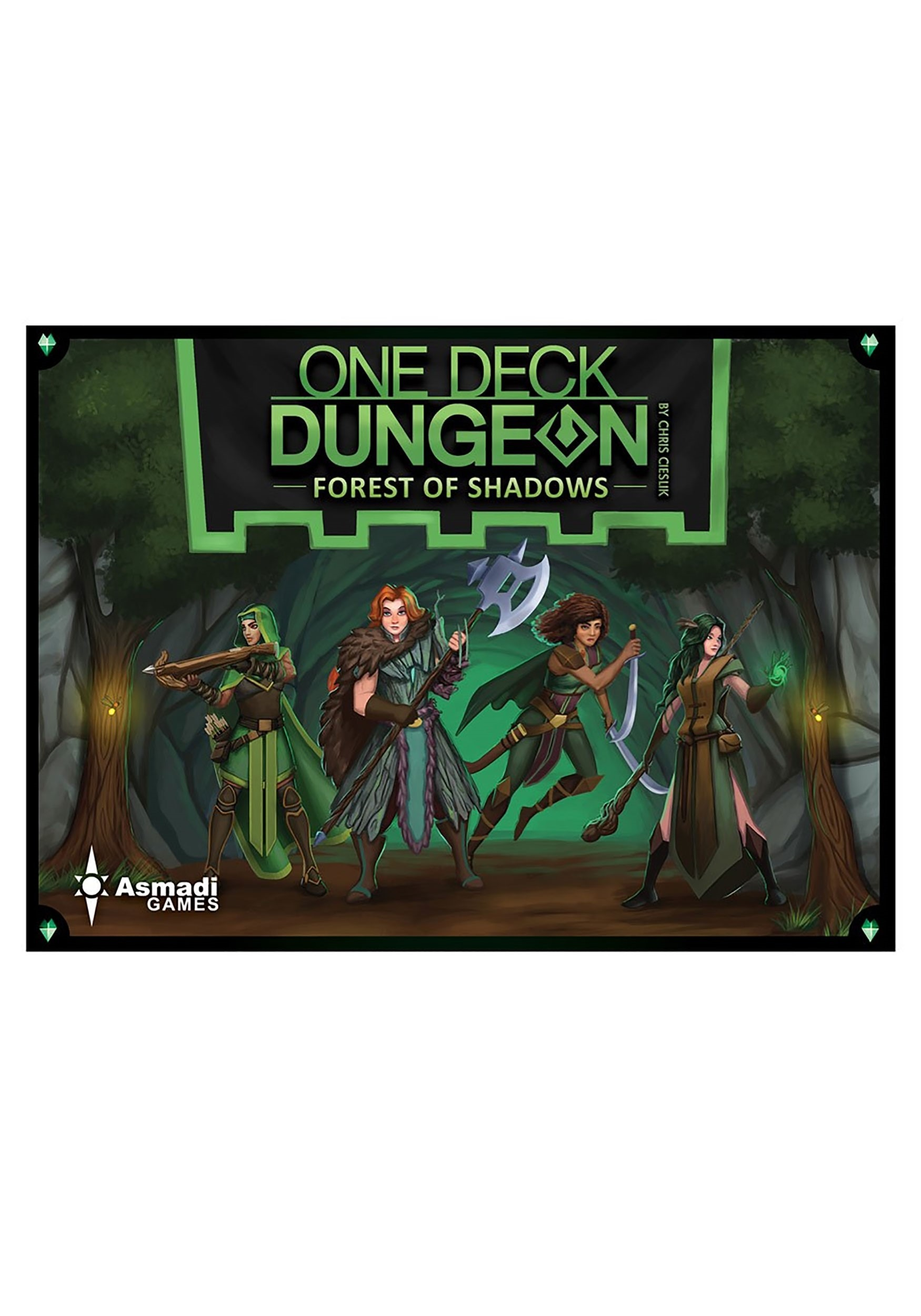 One Deck Dungeon- Forest of Shadows Card Game