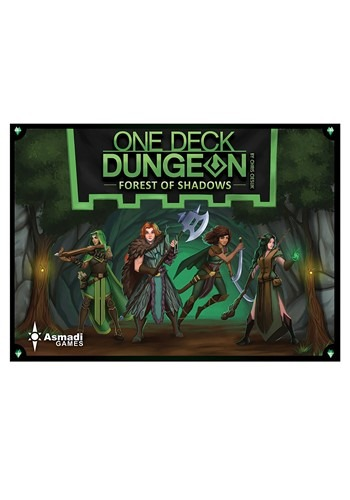 One Deck Dungeon- Forest of Shadows Card