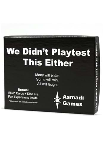 We Didnt Playtest This Either Card Game update