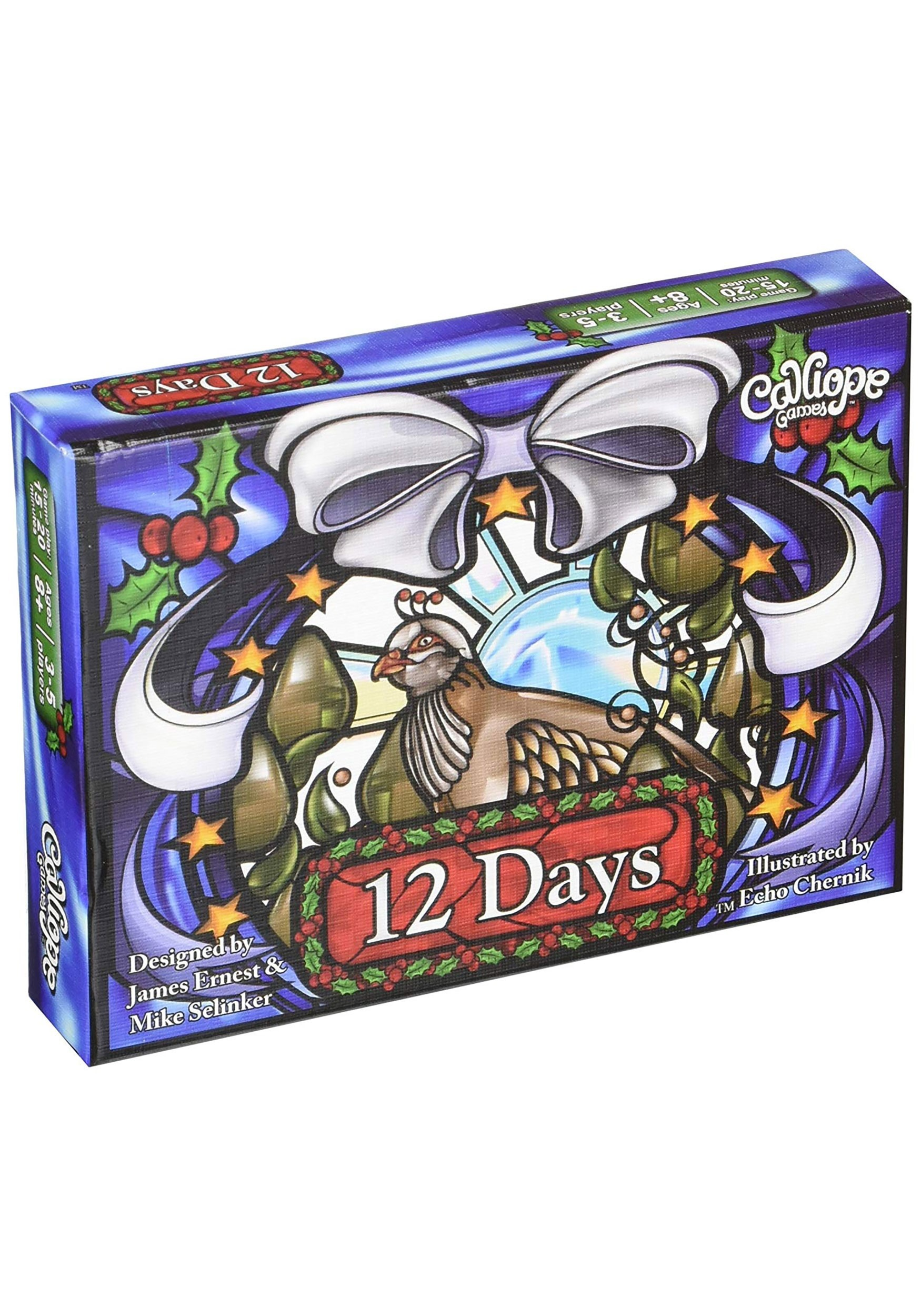 12 Days Card Game for Christmas