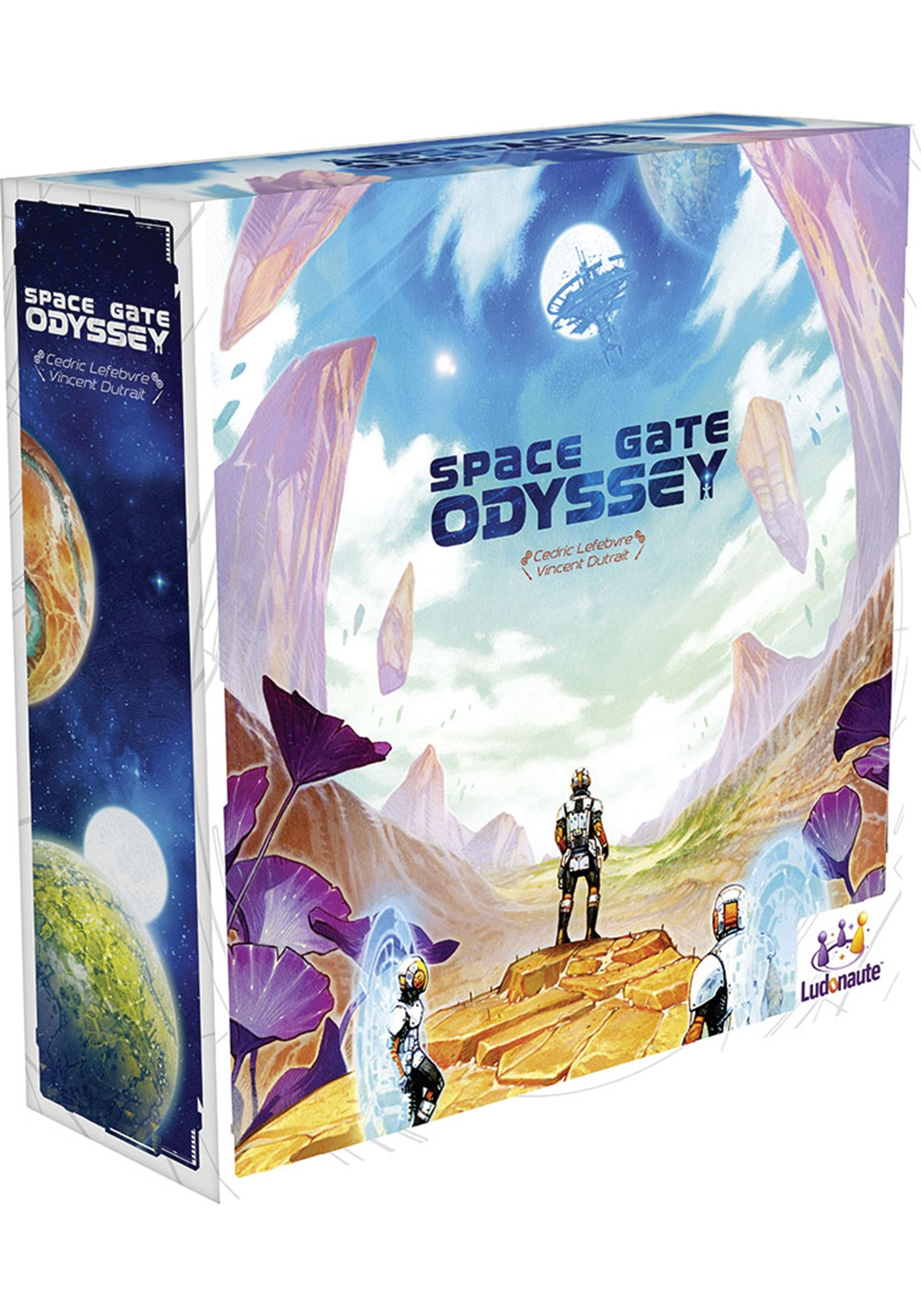 Space Gate Odyssey Board Game Science Fiction