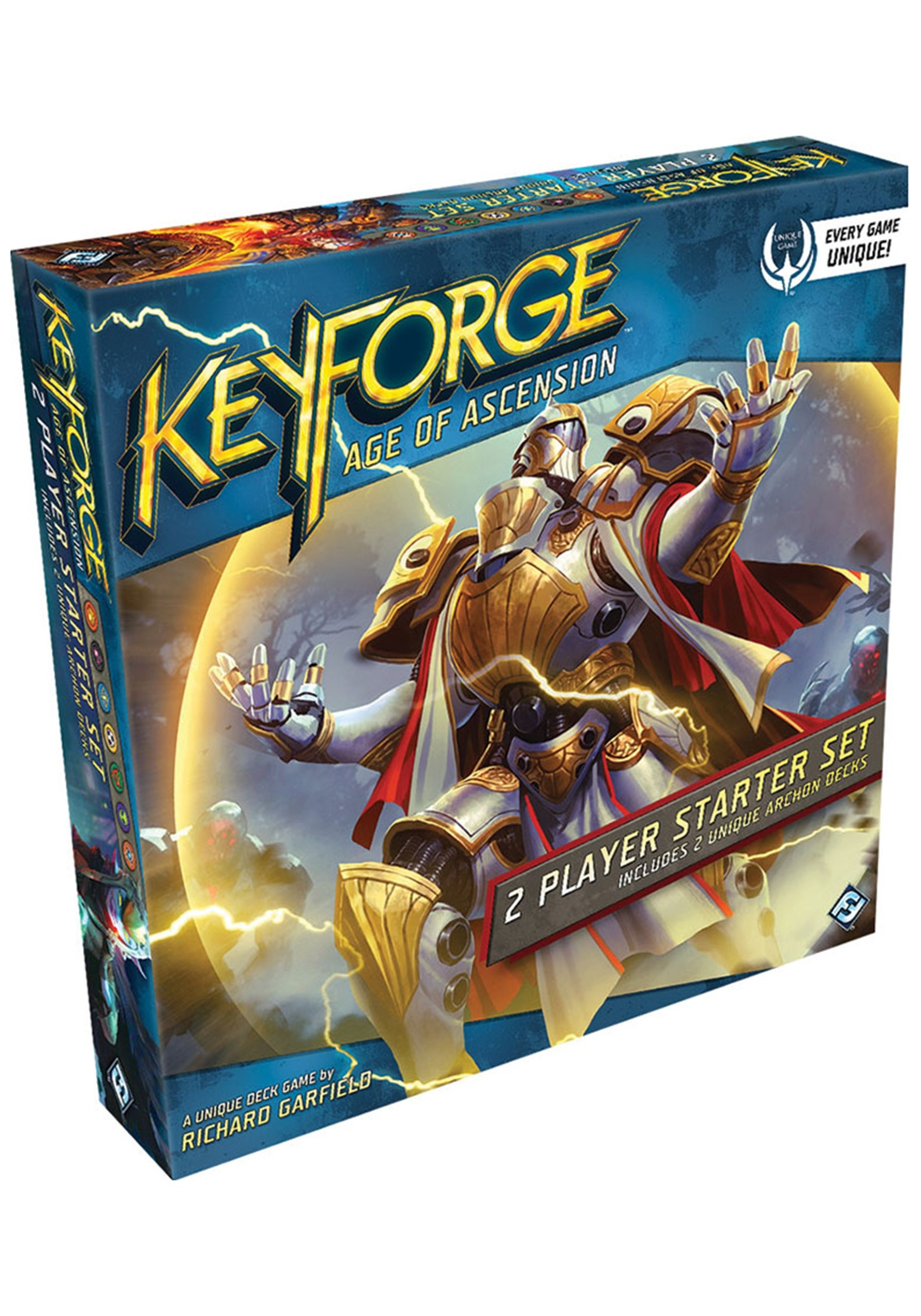 KeyForge: Age of Ascension Two-Player Starter Set Card Game