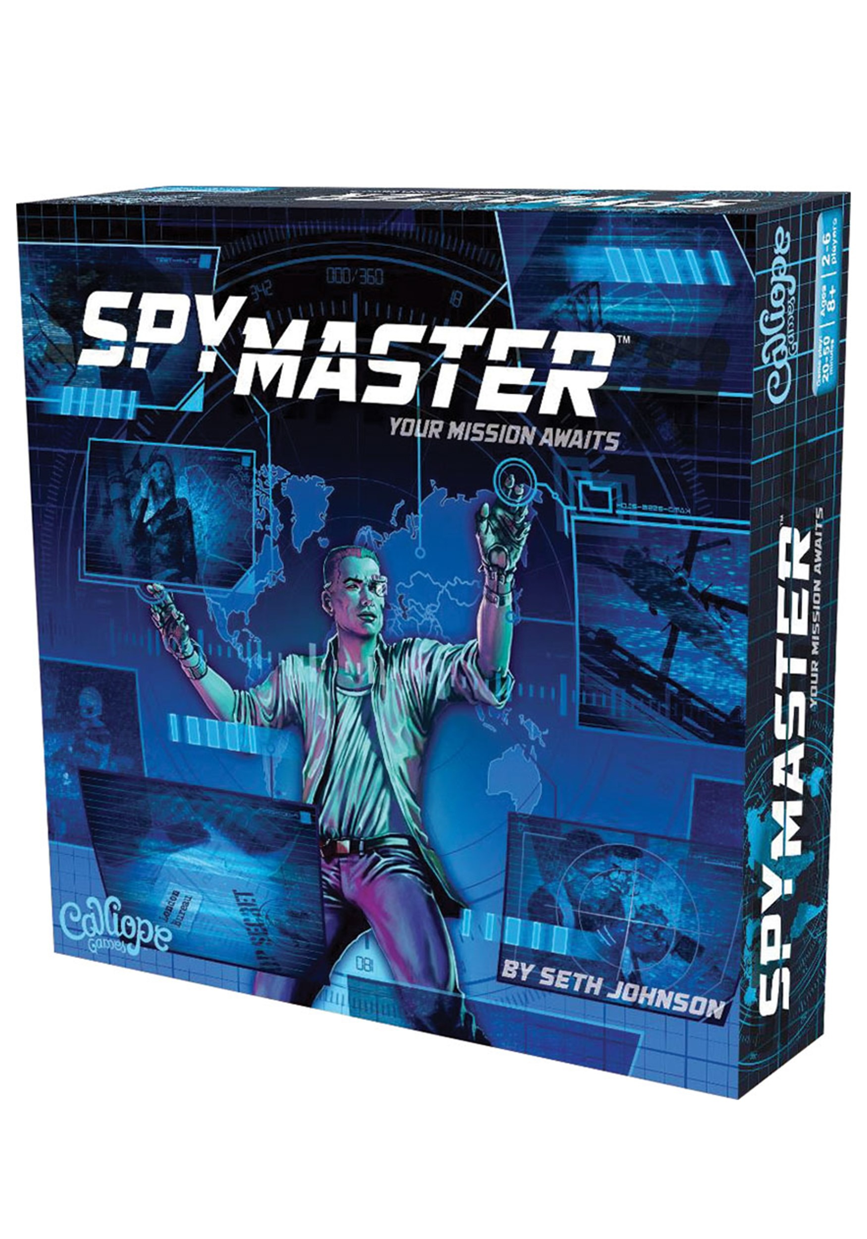 Titan Series: SpyMaster Board Game
