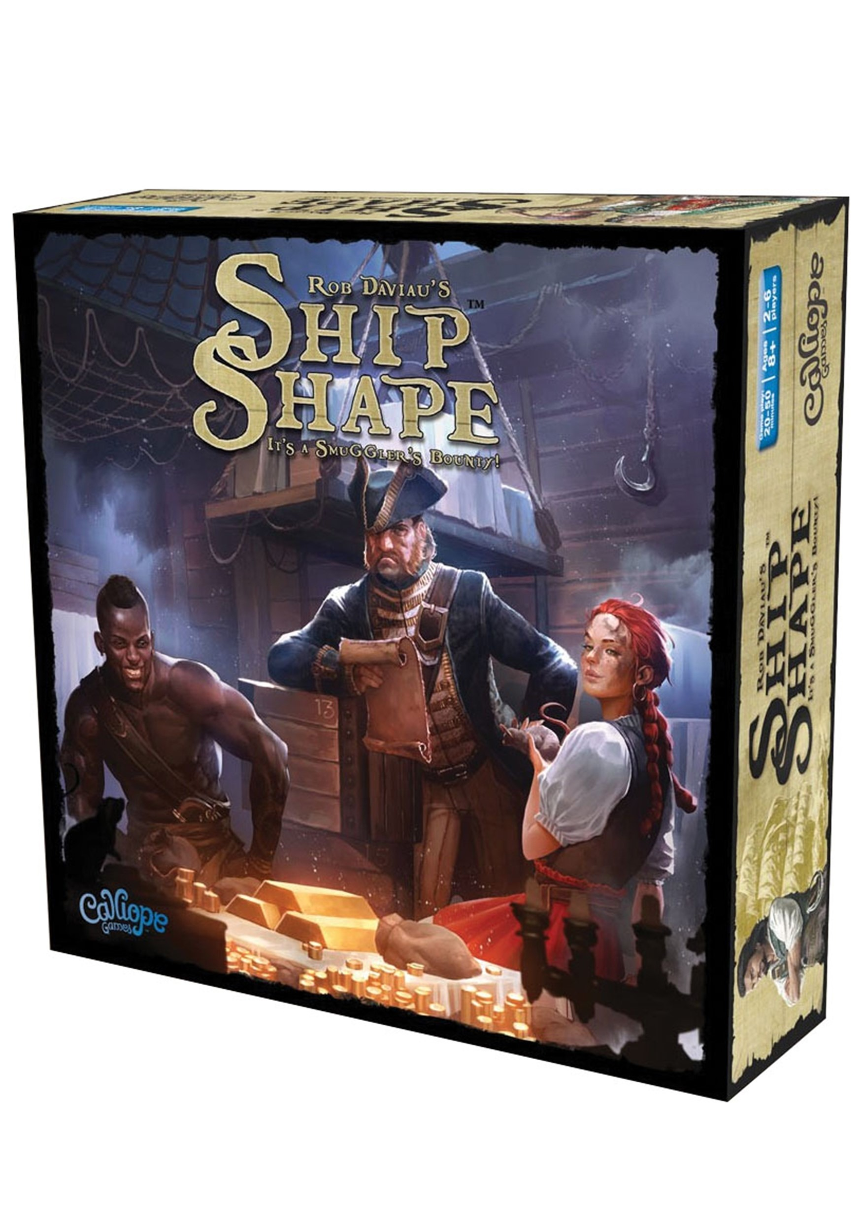 Titan Series: Ship Shape Board Game