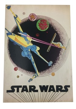 "Star Wars X-Wing Fighter 13""x19"" Box Art Wall Decor"
