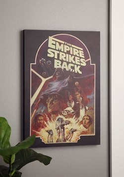 "Star Wars Empire Strikes Back 13""x19"" Box Art Wall Decor"