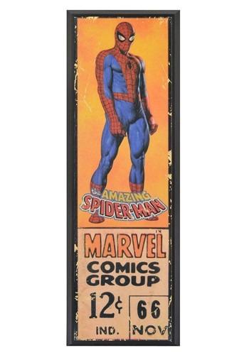 Marvel Spider-Man 8in x 27in Framed Print Wall Art