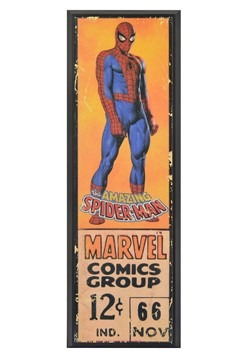 Marvel Spider-Man 8in x 27in Framed Print Wall Art