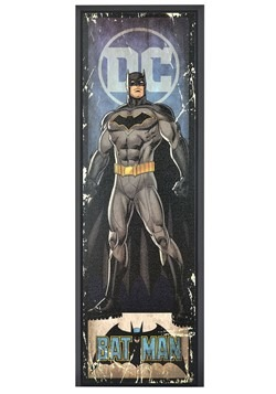 "DC Comic Batman 8"" x 27"" Framed Print Wall Art"