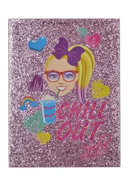 Jojo Siwa- Chill Out Double-Layer Glitter Canvas Wall Decor