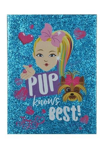 Jojo Siwa- Pup Knows Best- Double-Layer Glitter Canvas Wall