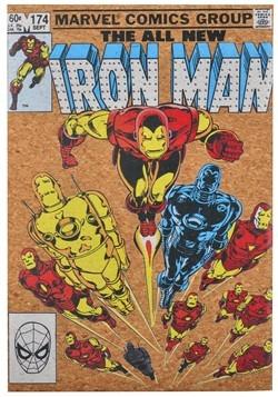 "Marvel Iron Man 12""x17.5"" Corkboard Wall Art w/thumbtacks"