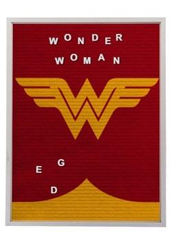 """DC Comics Wonder Woman 13""""x17.5"""" Felt Letterboard Wall Art w"""