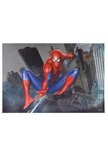 "Marvel Spider-Man 19""x13"" Metallic Box Art Wall De"