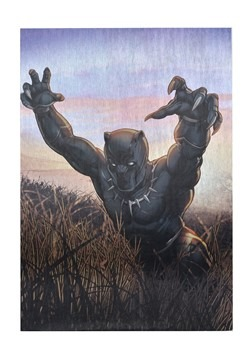 "Marvel Black Panther 19""x13"" Metallic Box Art Wall"