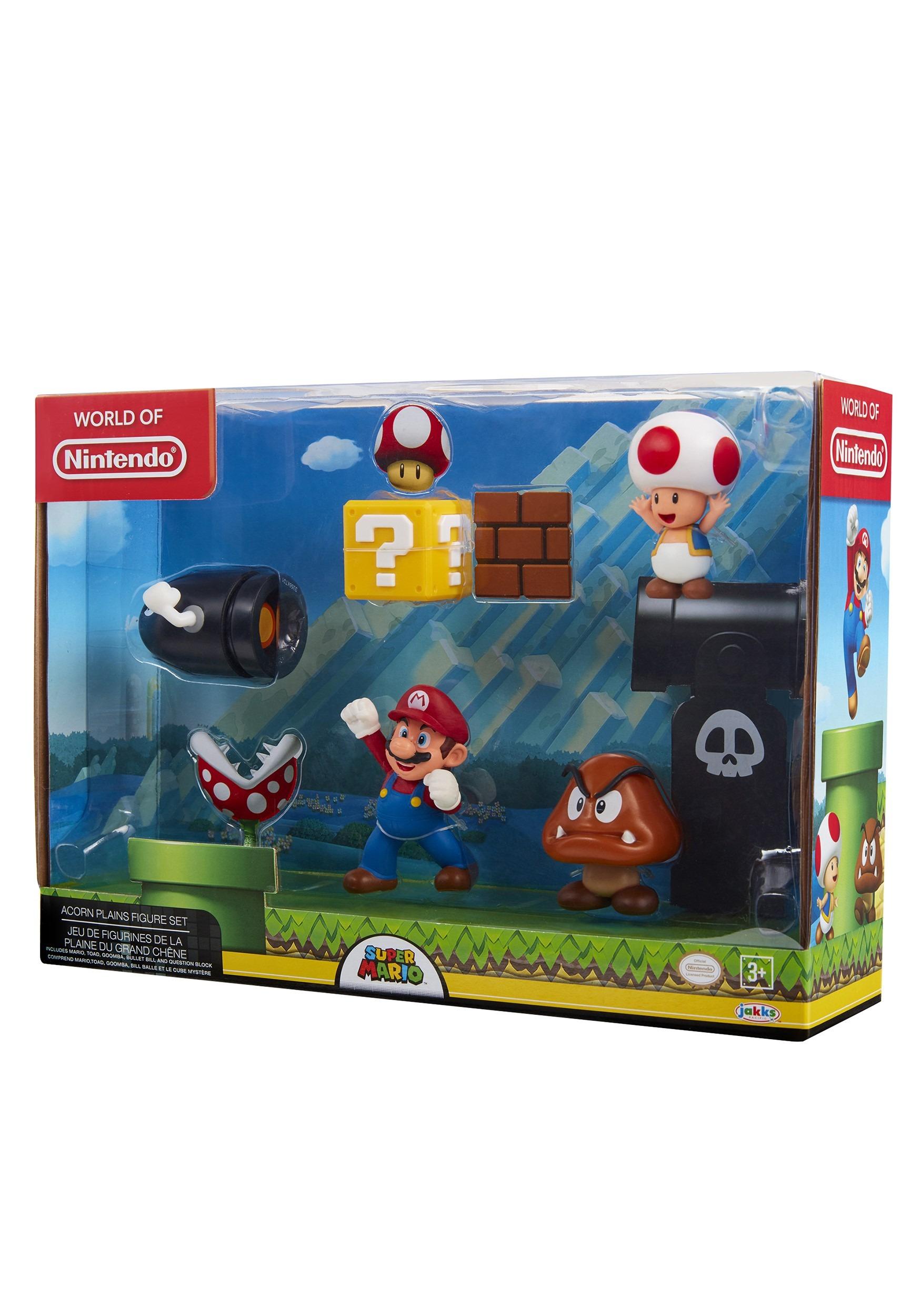 d9d39fe67931a Nintendo Super Mario 5 Figure Set