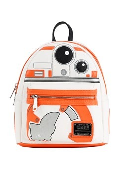 Loungefly BB8 Faux Leather Mini Backpack