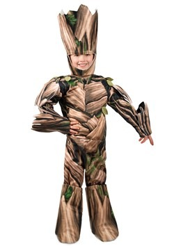 Guardians of the Galaxy Groot Deluxe Boys Costume