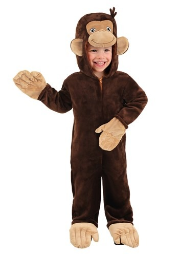 Curious George Toddler's Deluxe Costume