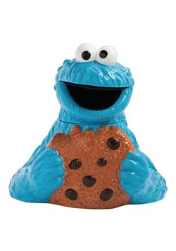 Ceramic Cookie Monster Cookie Jar