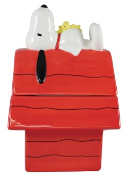 Peanuts Snoopy Cookie Jar