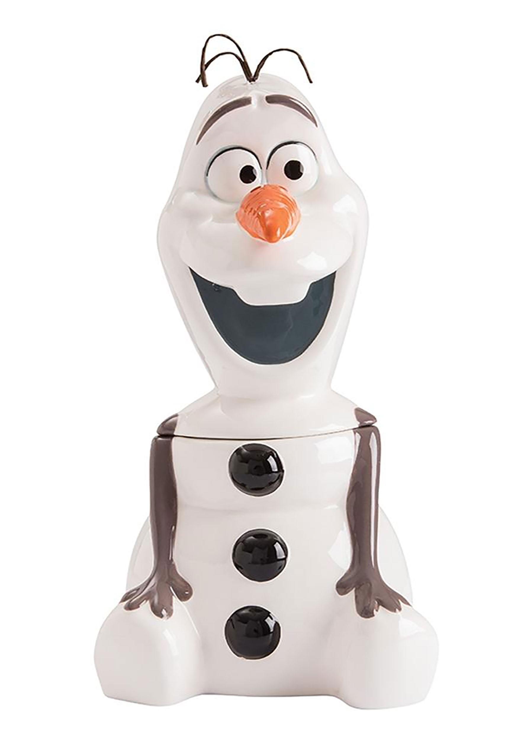 Frozen Olaf Cookie Jar Disney