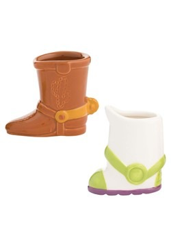 Toy Story Woody and Buzz Shot Glass Set