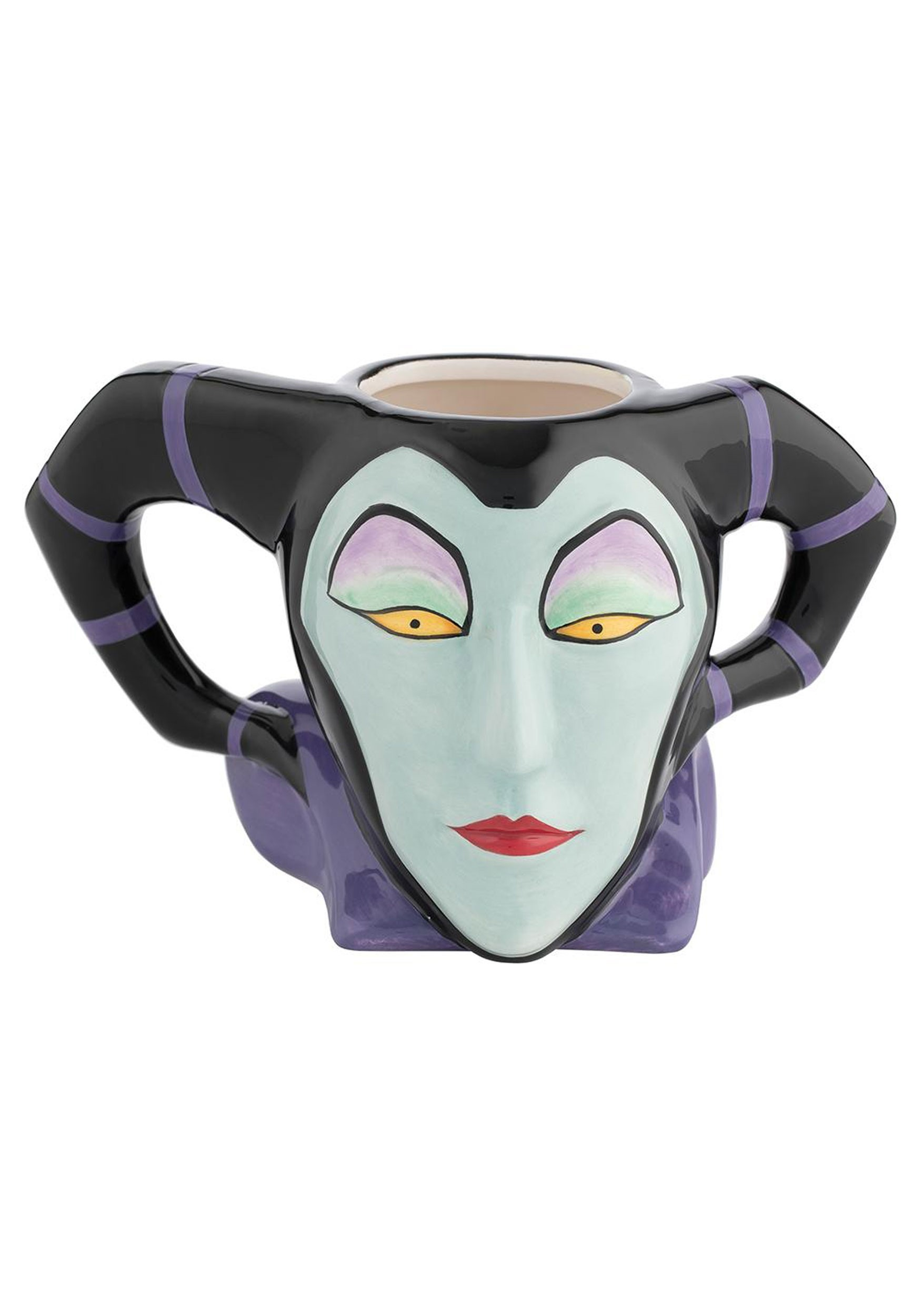 Maleficent Sculpted Ceramic Mug