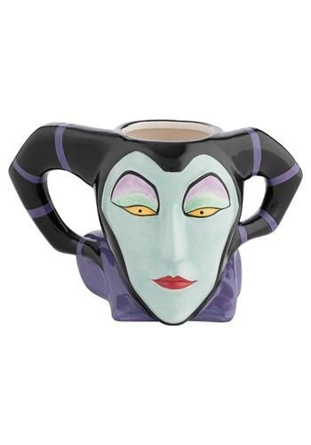 Maleficent Sculpted Ceramic Mug