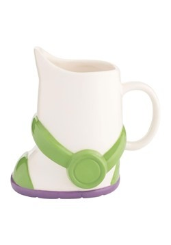 Toy Story Buzz Lightyear Boot Ceramic Sculpted Mug