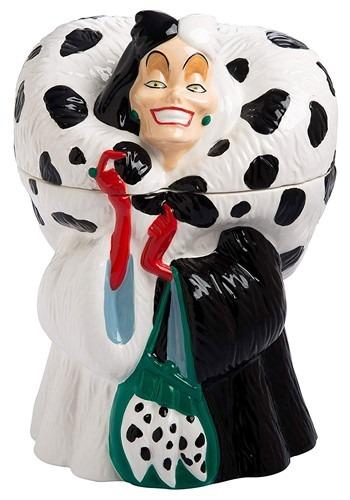 Ceramic Cruella de Vil Cookie Jar