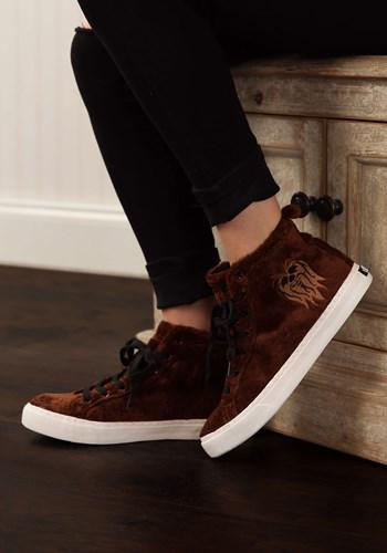 Chewbacca Furry Face High-Top Shoes Update
