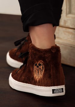 Adult Chewbacca Furry Face High-Top Shoes alt 6