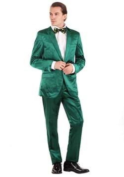 Mens Green Leprechaun Suit Costume Update