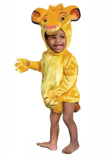 Lion King Infant Simba Costume1