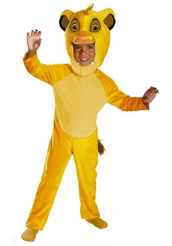 Lion King Toddler Simba Classic Costume1