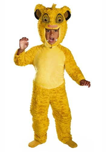 Lion King Toddler Simba Deluxe Costume1
