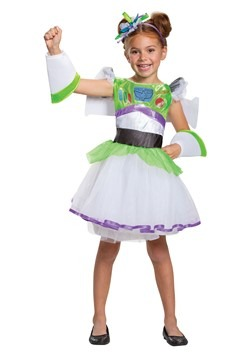 Toy Story Girls Buzz Lightyear Tutu Costume1