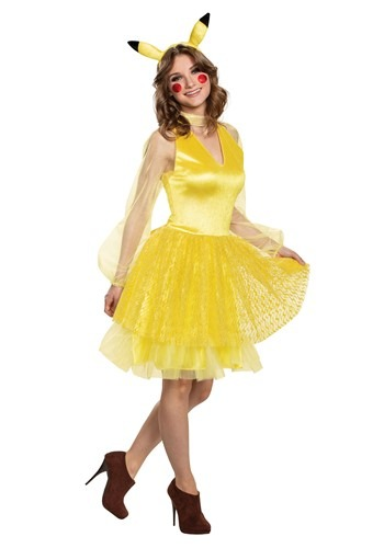 Pokemon Pikachu Women's Deluxe Costume