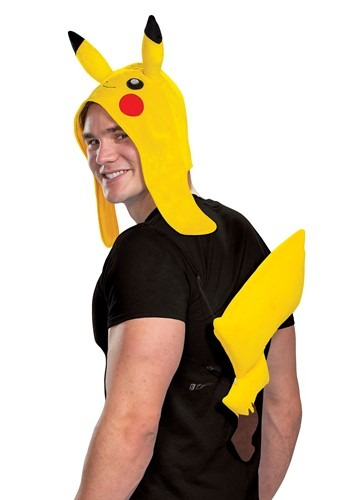 Pokemon Adult's Pikachu Accessory Kit