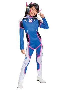 Overwatch D.Va Girl's Deluxe Costume