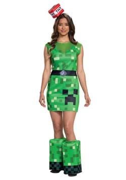 Minecraft Creeper Women's Costume