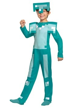 Minecraft Kids Armor Classic Costume2