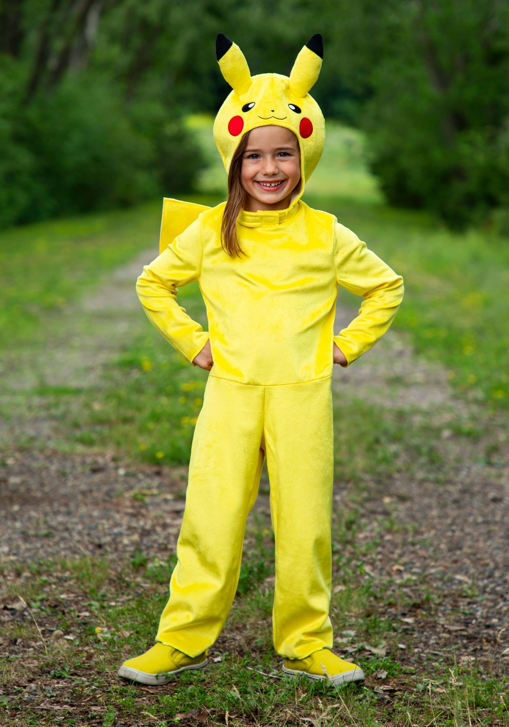The Pokemon Child Pikachu Classic Costume