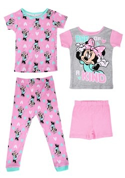 Girls Minnie Mouse 2 Pack Sleep Sets
