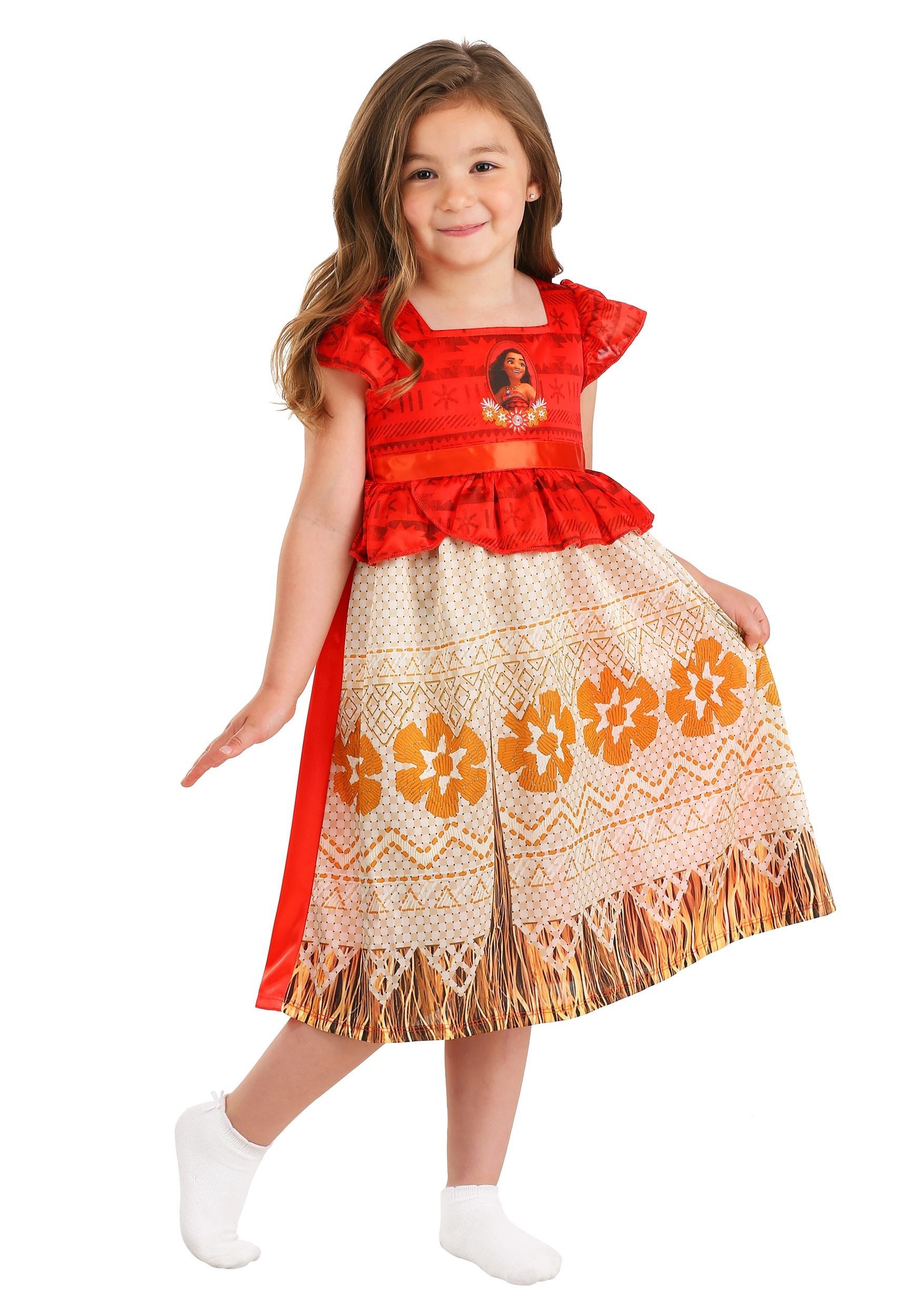 Disney Girls Moana Nightgown
